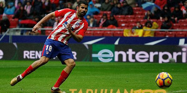 Costa Tetap di Dukung Meski Dikartumerah Usai Rayakan Gol Berlebihan