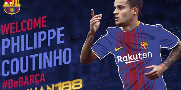 Liverpool Sepakati Transfer Philippe Coutinho ke Barcelona
