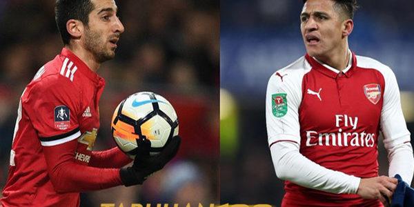 MU Tunggu Keputusan Mkhitaryan Untuk Bertukar Dengan Sanchez