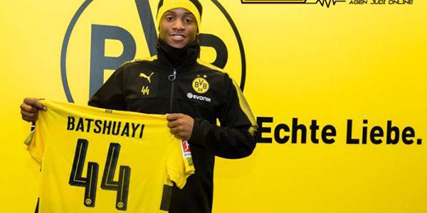Borussia Dortmund Resmi Pinjam Michy Batshuayi Sampai Akhir Musim