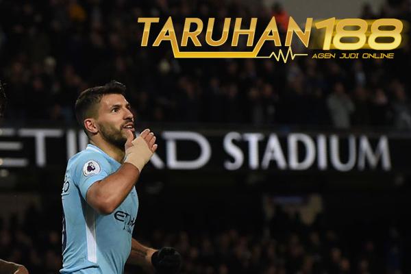 Catatan Spesial Aguero Lewat Empat Golnya ke Gawang Leicester