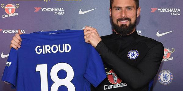 Chelsea Resmi Boyong Giroud dari Arsenal di Akhir Bursa Transfer
