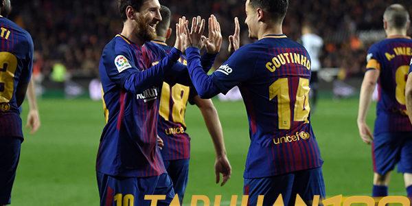 Coutinho Sangat Gembira Berhasil Cetak Gol Perdana Bersama Barcelona
