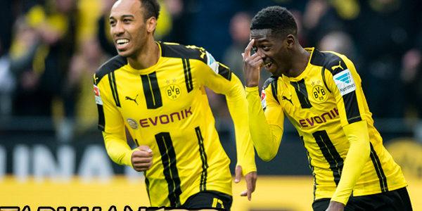 Dortmund Peringatkan Pemainnya Jangan Tiru Dembele dan Aubameyang