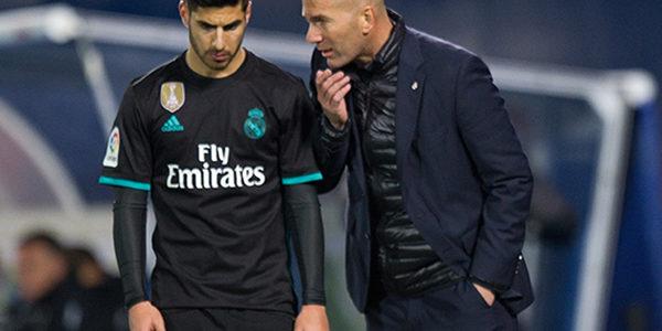 Zidane Mengaku Tampilnya Asensio Bukan Bagian dari Taktik Madrid
